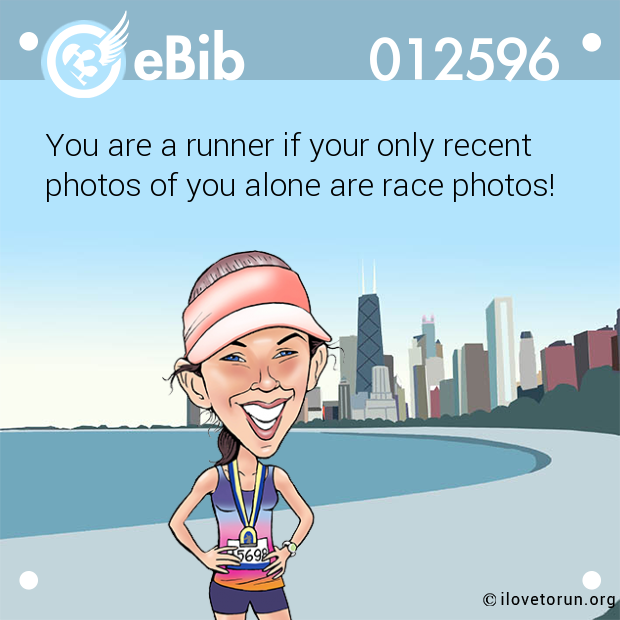 You are a runner if your only recent