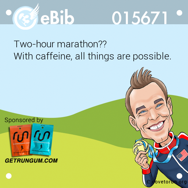 Two-hour marathon??