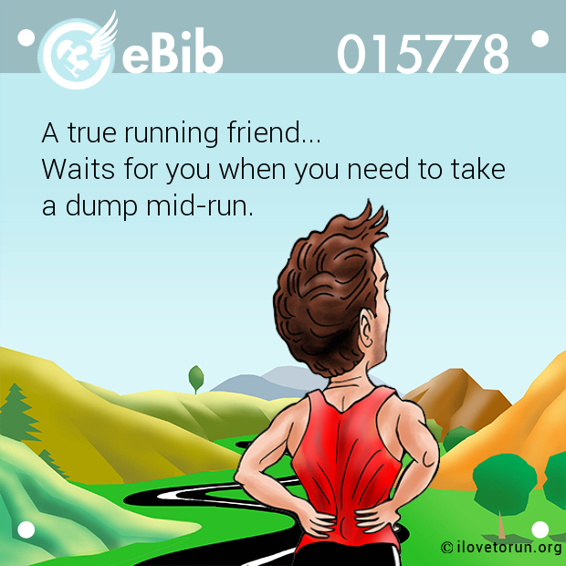 A true running friend... 