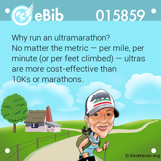 Why run an ultramarathon?