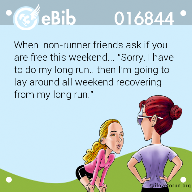 When  non-runner friends ask i...