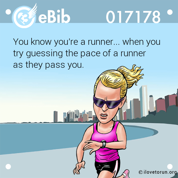 You know you're a runner... wh...