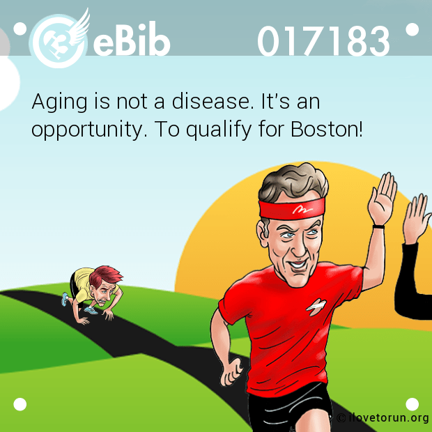 Aging is not a disease. It's a...