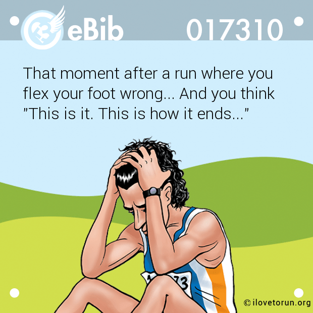 That moment after a run where...
