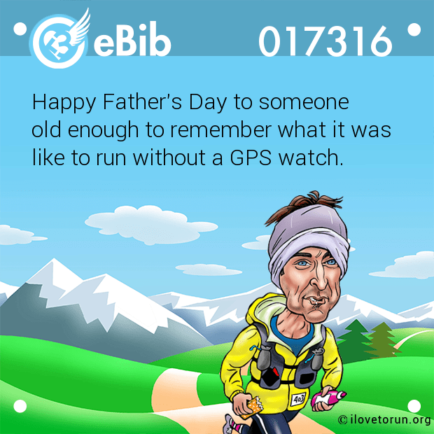 Happy Father's Day to someone 