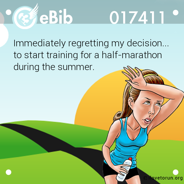 Immediately regretting my decision...