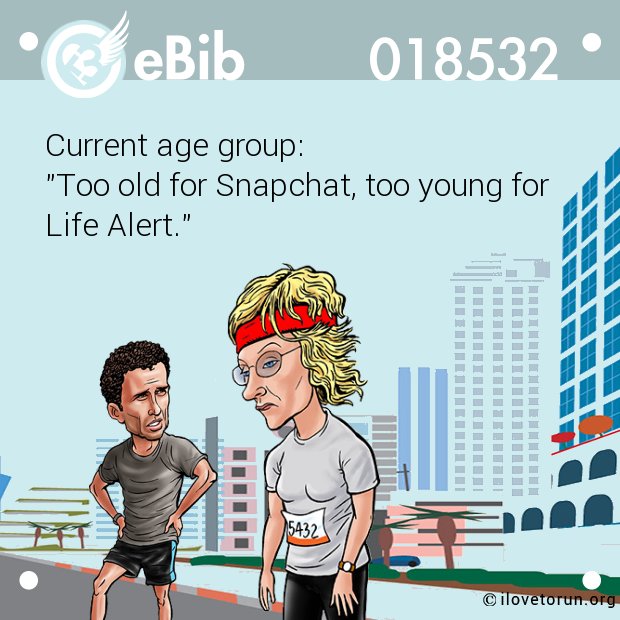 Current age group: