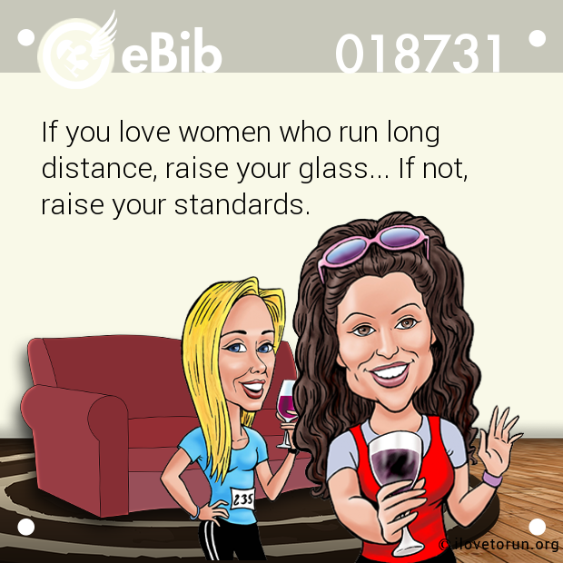 If you love women who run long...
