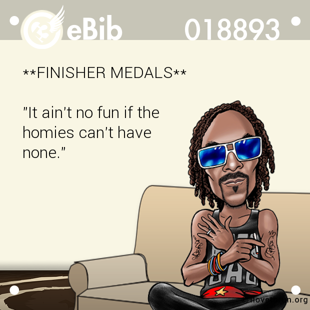 **FINISHER MEDALS**