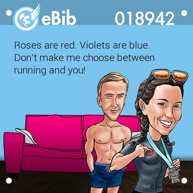 Roses are red. Violets are blue.