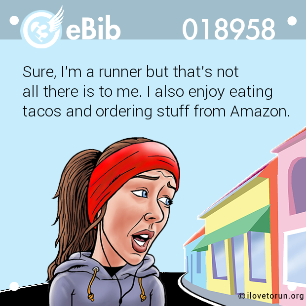 Sure, I'm a runner but that's not 