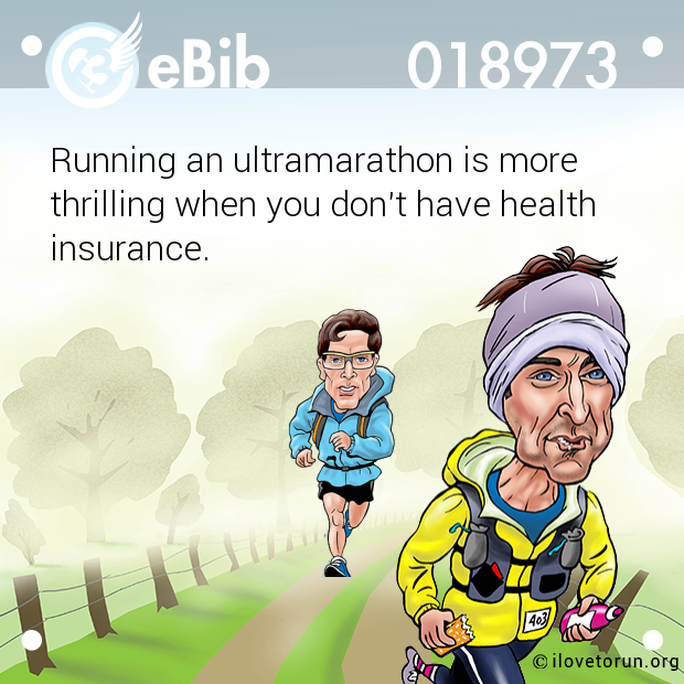 Running an ultramarathon is mo...