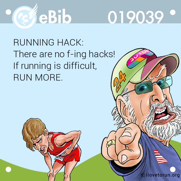 RUNNING HACK: