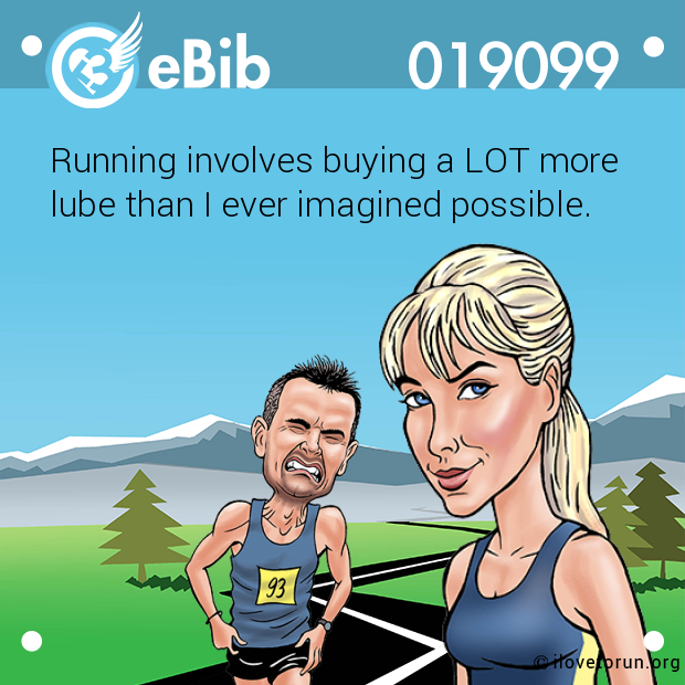 Running involves buying a LOT...