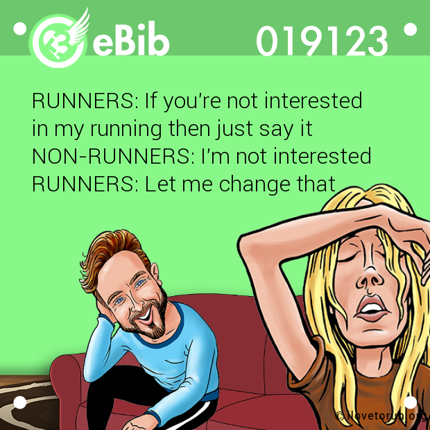 RUNNERS: If you're not interes...
