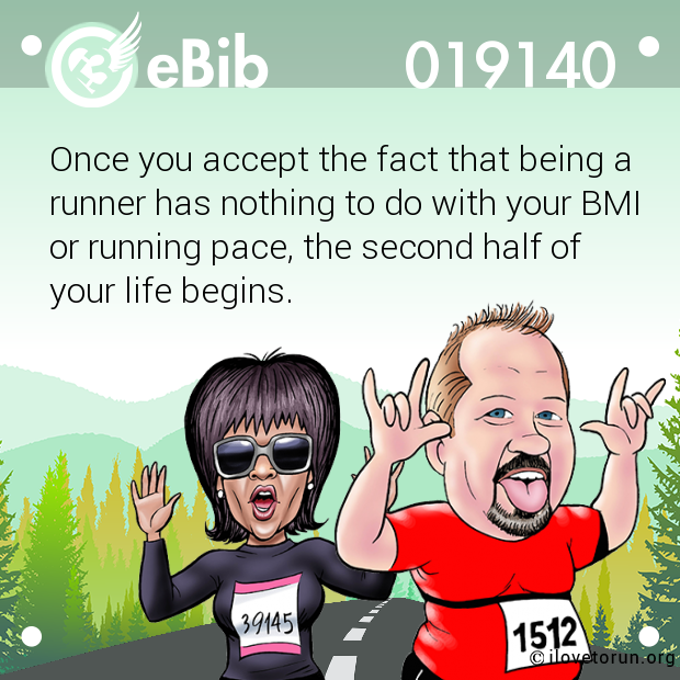 Once you accept the fact that being a