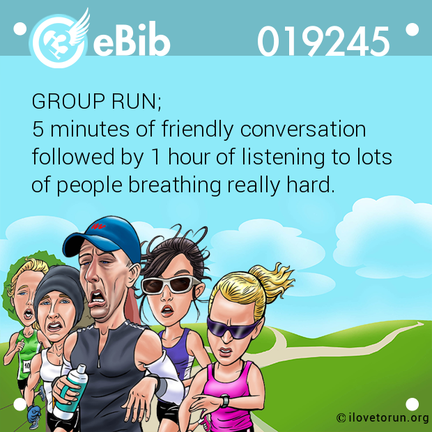 GROUP RUN; 
