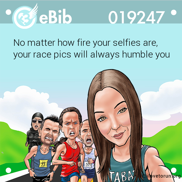 No matter how fire your selfie...