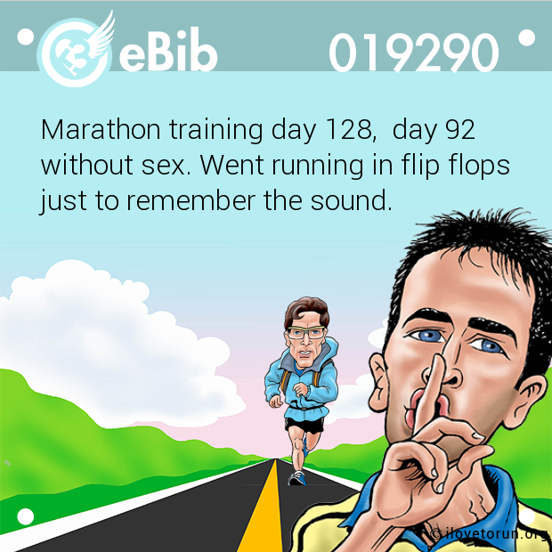 Marathon training day 128,  da...