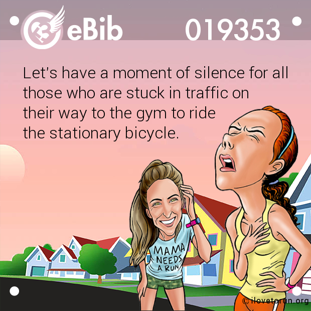 Let's have a moment of silence for all 