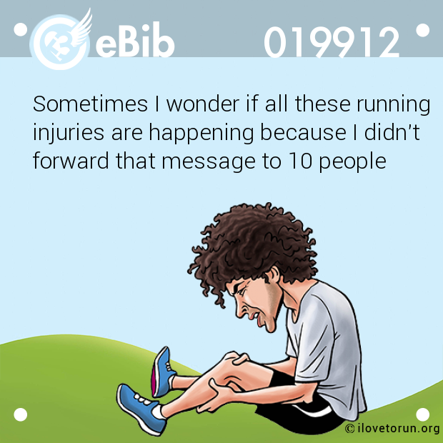 Sometimes I wonder if all these running