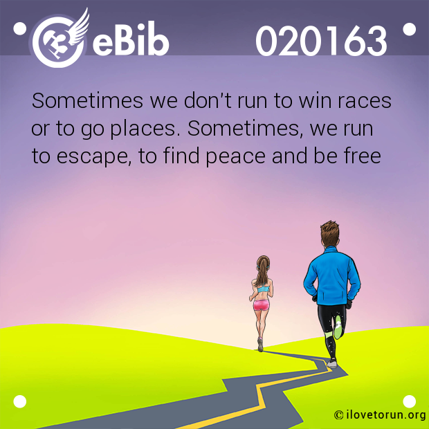 Sometimes we don't run to win races