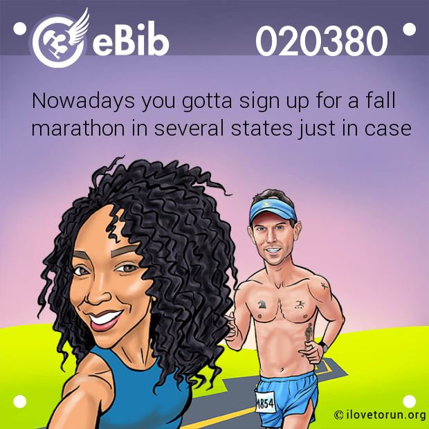 Nowadays you gotta sign up for a fall