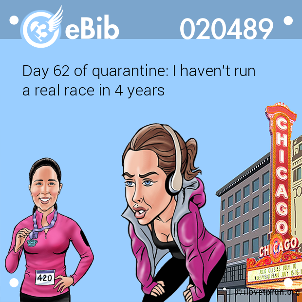 Day 62 of quarantine: I haven't run  a real race in 4 years