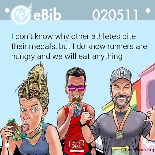 I don't know why other athletes bite 