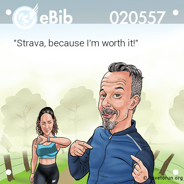 """Strava, because I'm worth it!"""