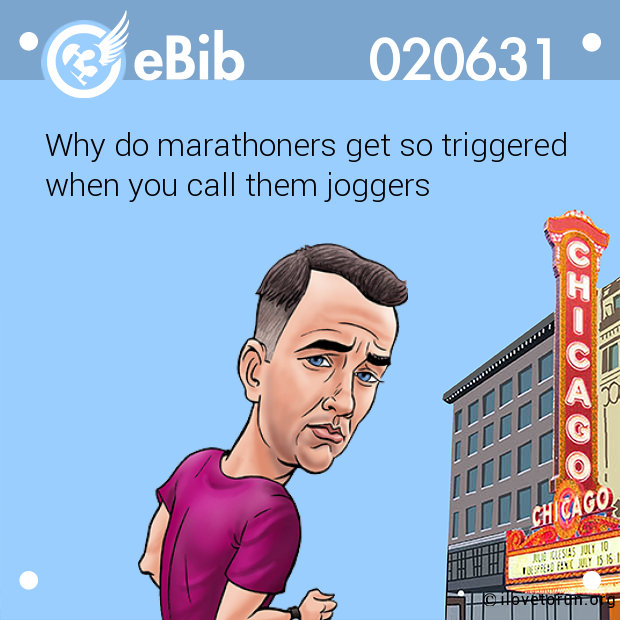Why do marathoners get so triggered  when you call them joggers