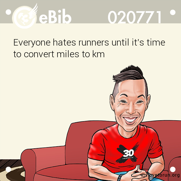 Everyone hates runners until it's time