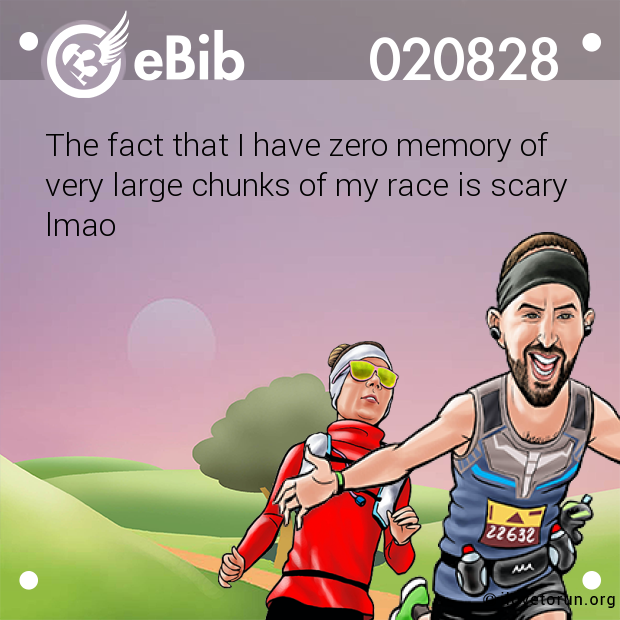 The fact that I have zero memory of 