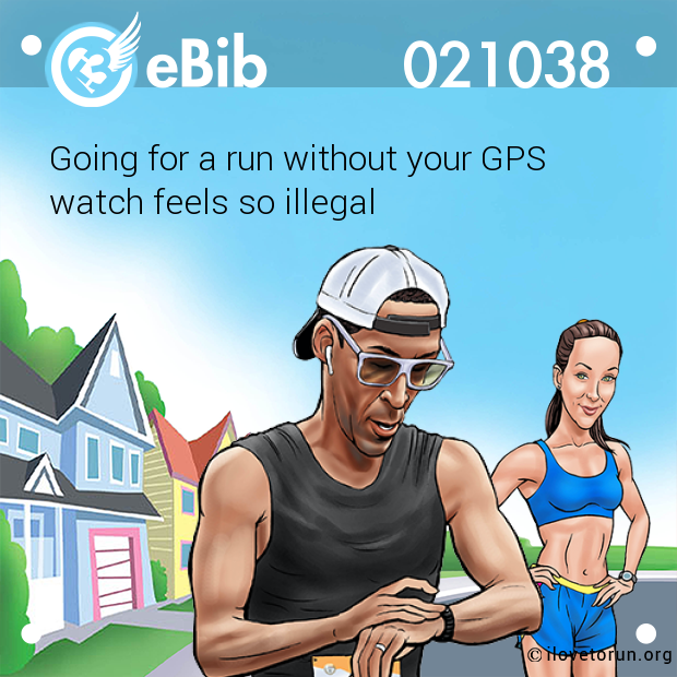 Going for a run without your GPS 