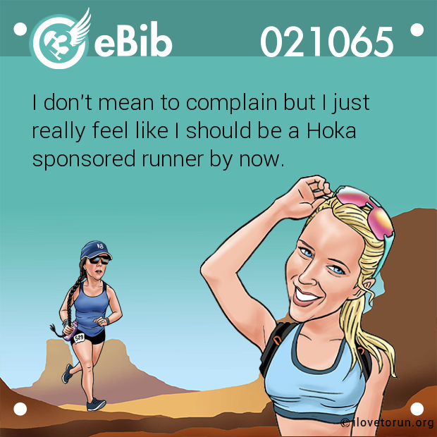 I don't mean to complain but I just 
