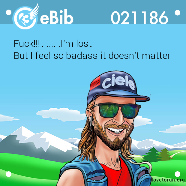 Fuck!!! ........I'm lost. But I feel so badass it doesn't matter