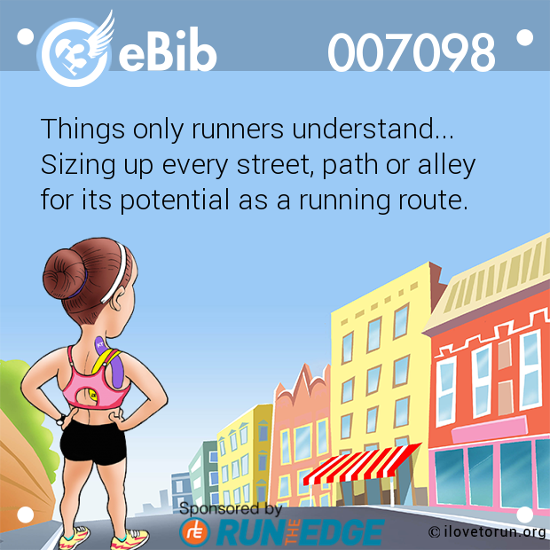 Things only runners understand...