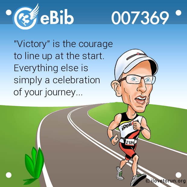 """Victory"" is the courage 