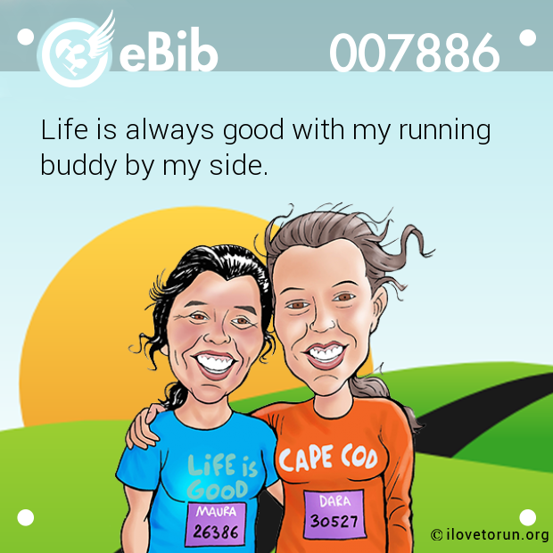 Life is always good with my running
