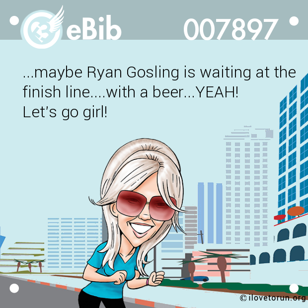 ...maybe Ryan Gosling is waiting at the