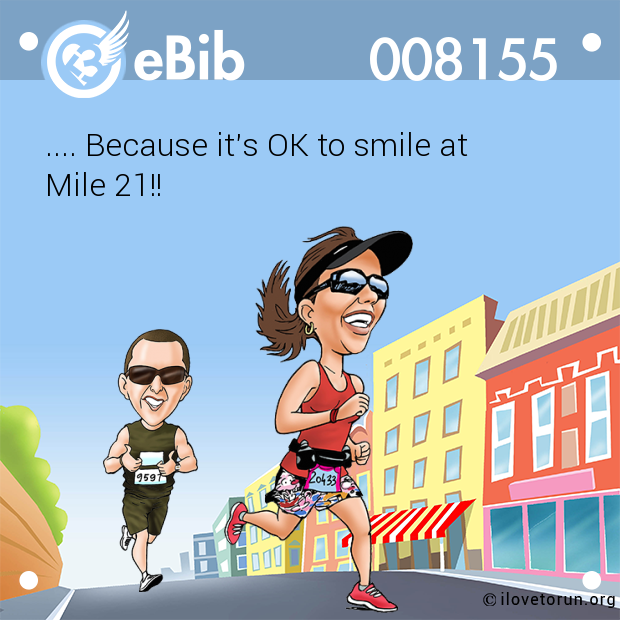 .... Because it's OK to smile at 