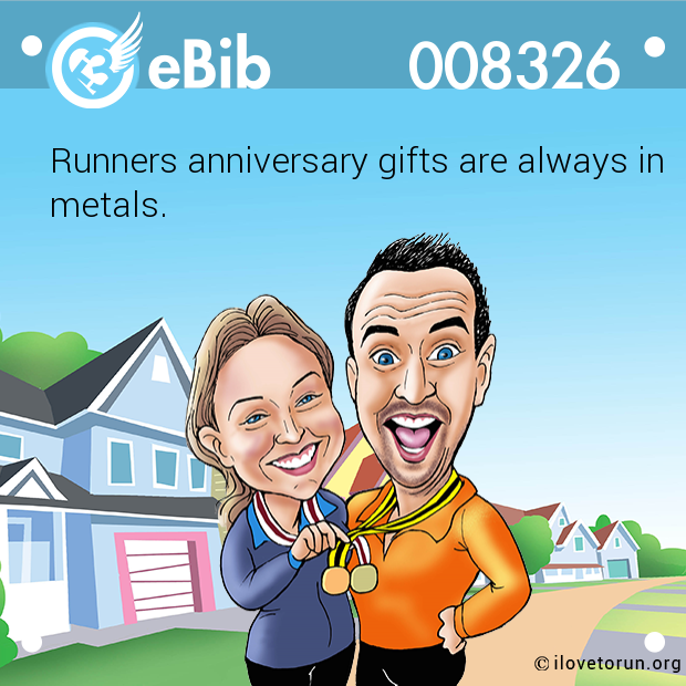 Runners anniversary gifts are always in