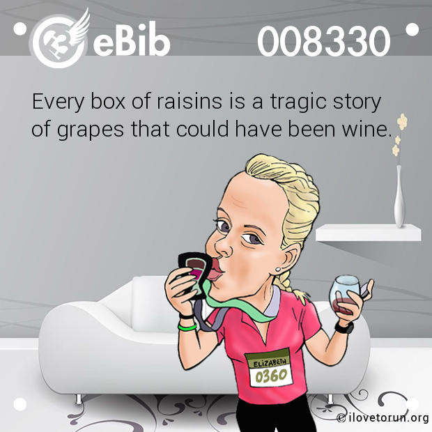 Every box of raisins is a tragic story