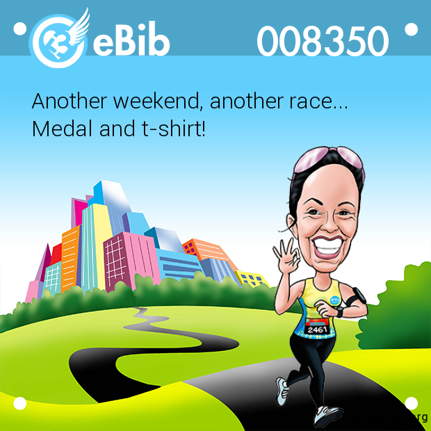 Another weekend, another race... 