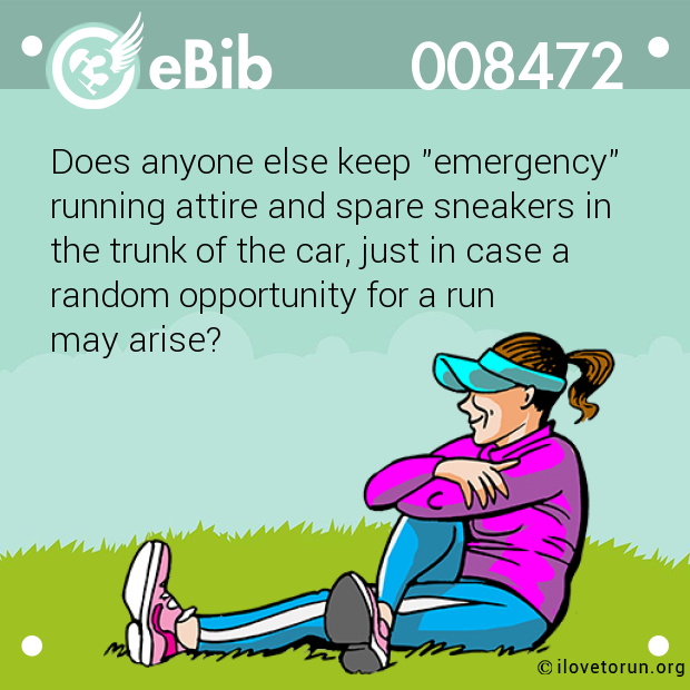 "Does anyone else keep ""emergency""
