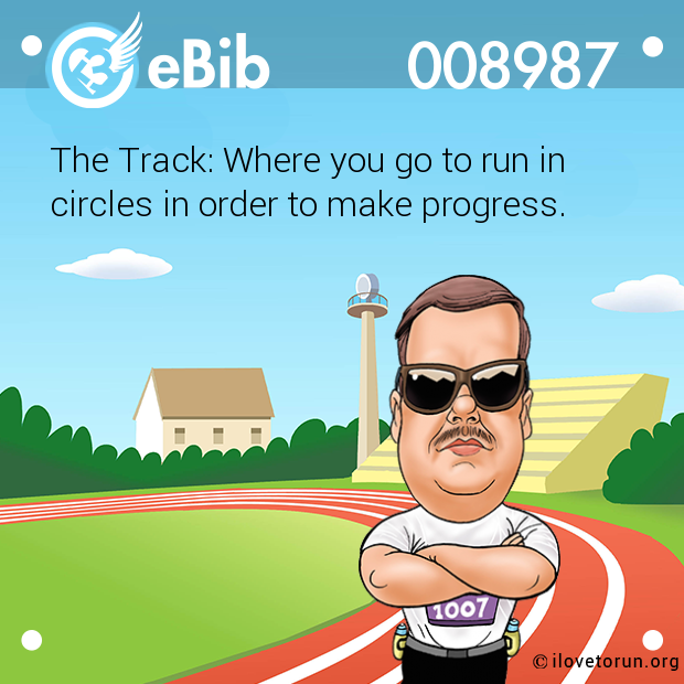 The Track: Where you go to run in