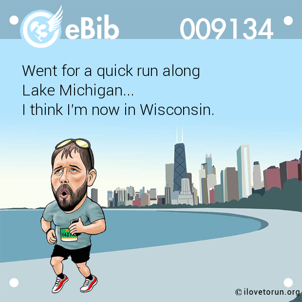 Went for a quick run along 