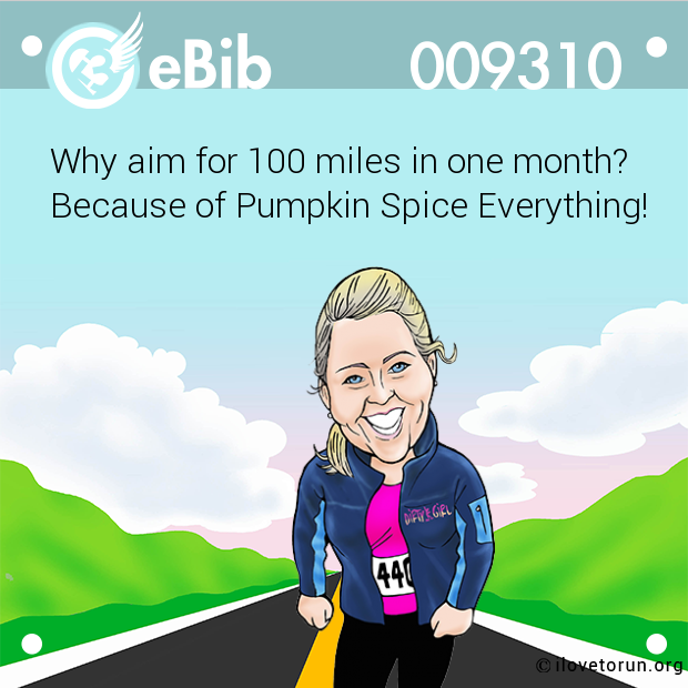 Why aim for 100 miles in one month?