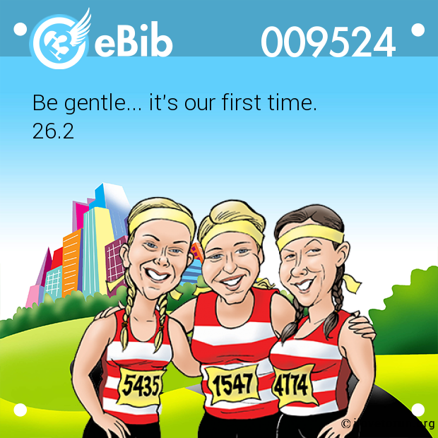 Be gentle... it's our first time.
