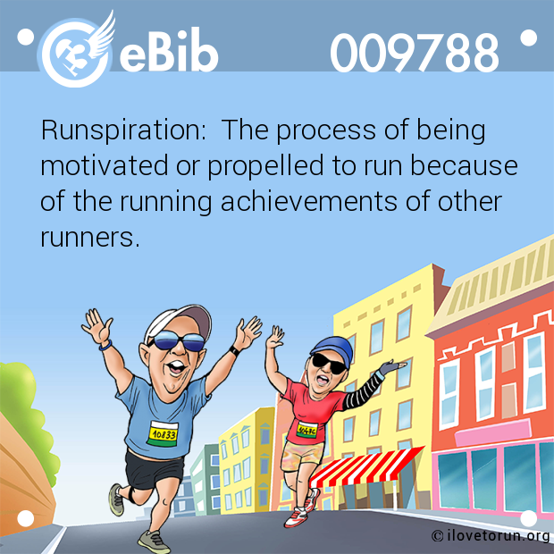 Runspiration:  The process of being